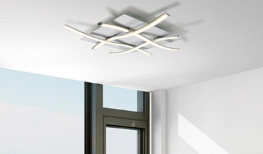 Plafoniera Quadrata 40x40 : Lampade da soffitto the lux illuminazione alcamo